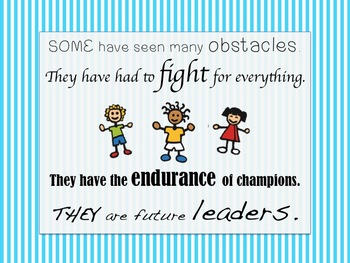 Counselors Encouragement Poster - Endurance