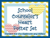 Counselor's Heart Poster Set