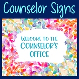 Back to School Counselor Confidentiality Poster