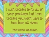 """Counselor's Promise Poster {""""Hopeful"""" Theme}"""
