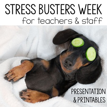 Stress Busters Week for Faculty Kit