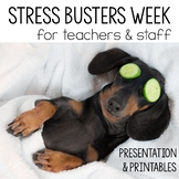 Stress Relief Week for Faculty Kit