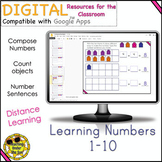 Count 1-10 Learn Numbers Compose Numbers Google Distance Learning