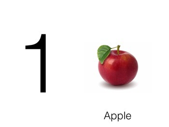 Count 1-10 with Fruits