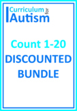 Count 1-20 Bundle Autism Basic Concepts Independent Tasks