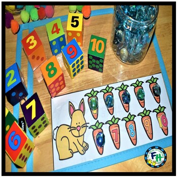Count 1 to 10 Activity Center | My Counting Friends
