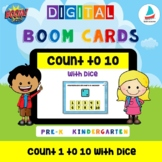 Count 1 to 10 Dots on Dice | Pre-k Kindergarten Math Numbe