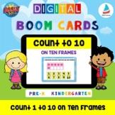 Count 1 to 10 Dots on Ten Frames | Pre-k Kindergarten Math