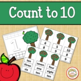 Count 1 to 10 - How Many Apples on the Tree Counting Activ