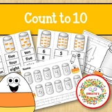 Count 1 to 10 - How Many Candy Corn Pieces Counting Activi