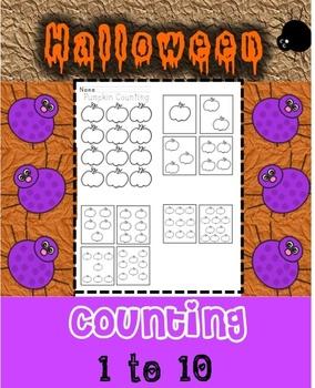 Count 1 to 10 Pumpkins