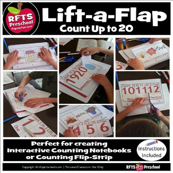 Count 1 to 20 Lift-A-Flap (D.I.Y. Interactive Notebook)