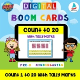 Count 1 to 20 with Tally Marks | Pre-k Kindergarten K-1 Ma