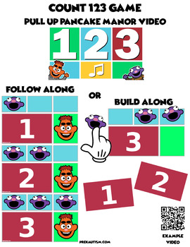 Count 123 Cards | Pair w/ Pancake Manor's Count 123 Video