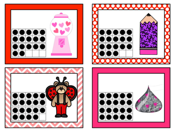Count AND Write the Room: Valentine's Day