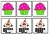 Count And Clip 0-10 Birthday & Memory Matching