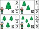 Count And Clip 1-10 Christmas Trees & Counting Mats Free