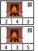 Count And Clip 1-10 Fireplace (QR Code Ready) -Dollar Deal