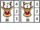 Count And Clip 1-10  Rudolph  QR Code Ready