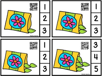 Count And Clip 1-10 Seeds (QR Code Ready) -Dollar Deal