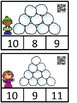 Count And Clip 1-10 Snowballs (QR Code Ready) -Dollar Deal