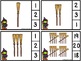 Count And Clip 1-20 Broomstick Tally (Matching Worksheets Included)