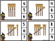 Count And Clip 1-20 Broomstick Tally (Matching Worksheets