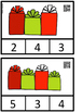 Count And Clip 1-20 Christmas Gifts (QR Code Ready)