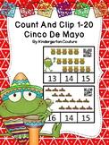 Count And Clip 1-20 Cinco De Mayo