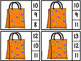 Count And Clip 1-20 Trick Or Treat (Matching Worksheets Included)