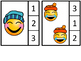 Count And Clip 1-20 Winter Emoji
