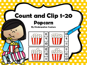 Count And Clip Popcorn