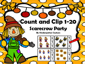 Count And Clip Scarecrow Party