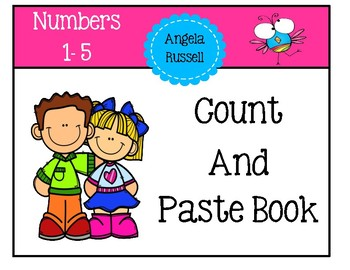 Count And Paste Book - Numbers 1-5
