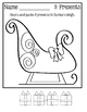 Count And Paste ~ Christmas Worksheets