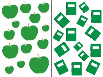 Count Around the Room: Green 10-20