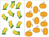 Count Around the Room: Fruits and Vegetables 10-20