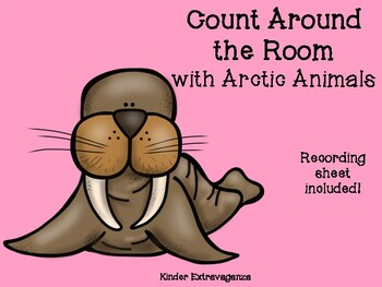 Count Around the Room with Arctic Animals
