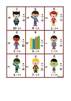 Count Back 1, 2, 3 Scramble Squares