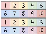 Count Backwards from 10 with a Ten Frame