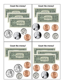 Count Bills and Coins