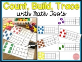 Count, Build, Trace Numbers to 10 with Math Tools