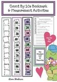 Count By 10s Bookmark & Measurement Activities