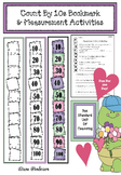 Skip Count By 10s Bookmark & Measurement Activities Great
