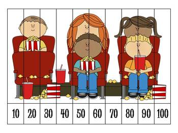 Count By 10's Number Puzzles