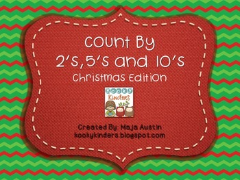 Count By 2's,5's and 10'sChristmas Edition