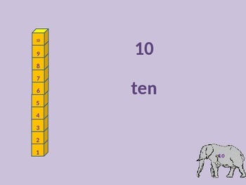 Count By Tens with Student Worksheet
