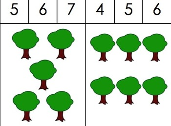 Count & CLip Cards_Trees