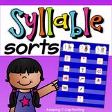 Syllable Sorts