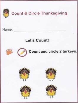 Count & Circle Thanksgiving